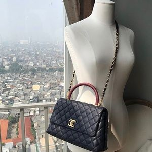03a0af29d075 Women Chanel Coco Handle Bag on Poshmark